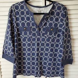Charter Club Pima cotton luxury blouse